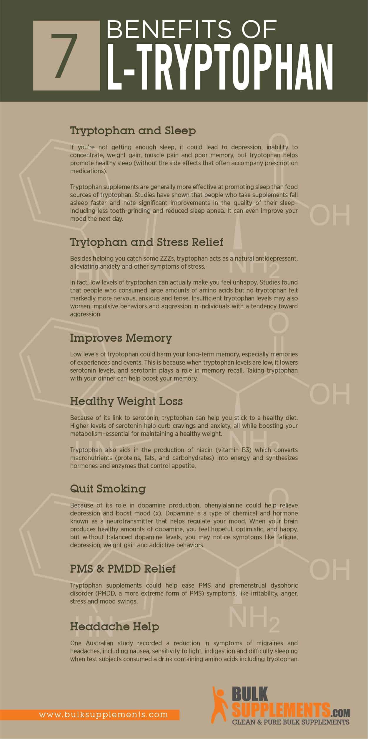 l-tryptophan benefits