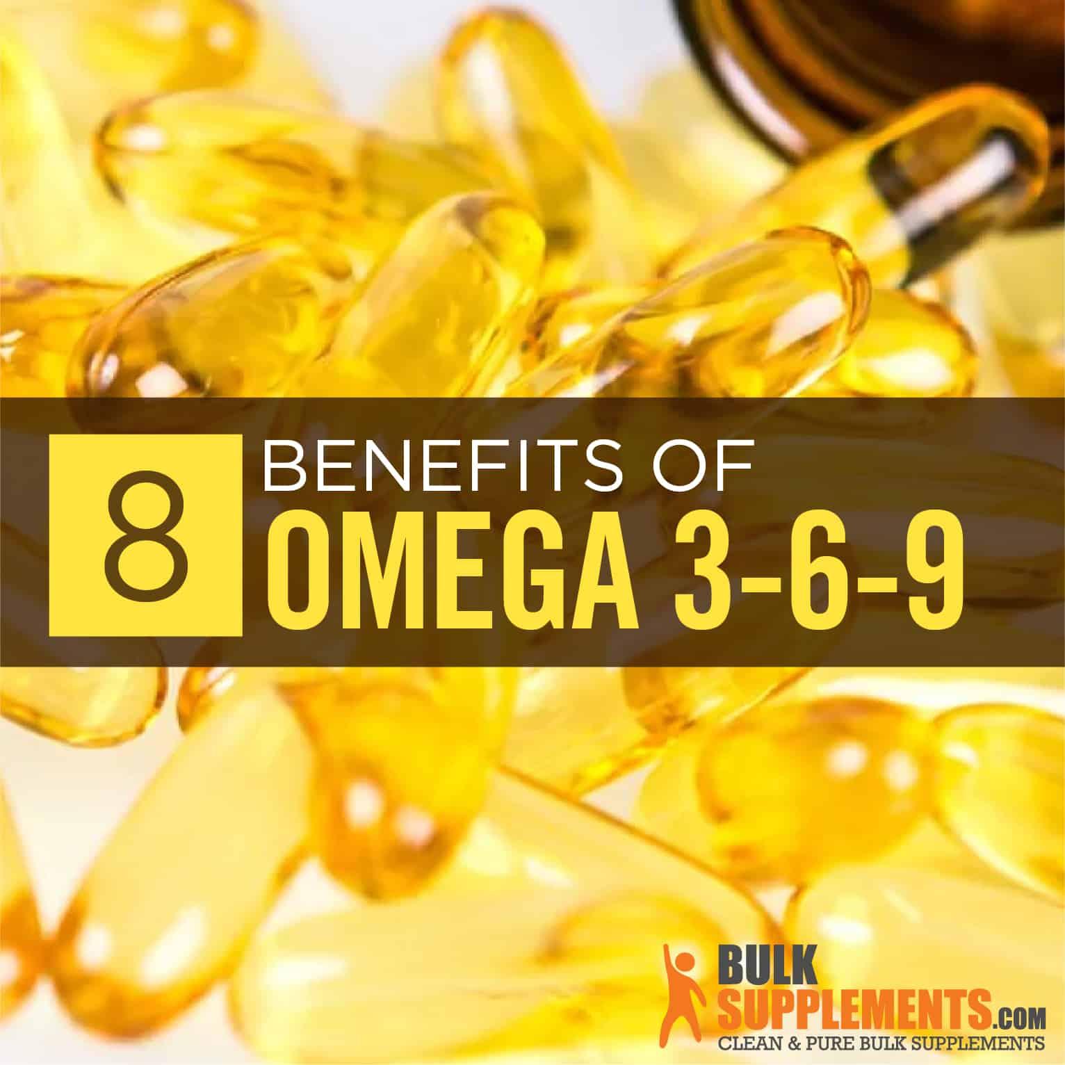 Omega 3-6-9: Benefits, Side Effects & Dosage